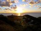Sunset light on B&B Pedra Rubia