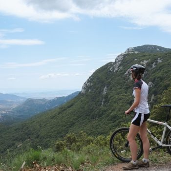 Biking around pedra rubia