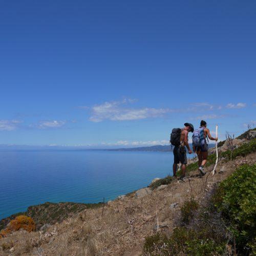 Trekking Capo Pecora - Scivu