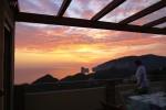 Cena al tramonto in terrazza
